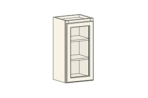 Deluxe White Shaker RTA Cabinets: FGDW1830